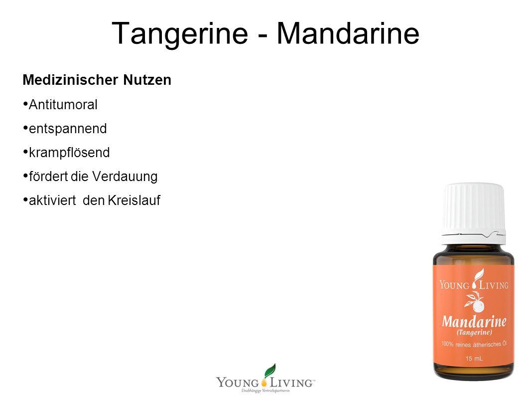 Innere Reinigung nach den 5 Wandlungsphasen Mit ätherischen Ölen von Young Living Tangerine - Mandarine Medizinischer Nutzen Antitumoral entspannend krampflösend fördert die Verdauung aktiviert den Kreislauf