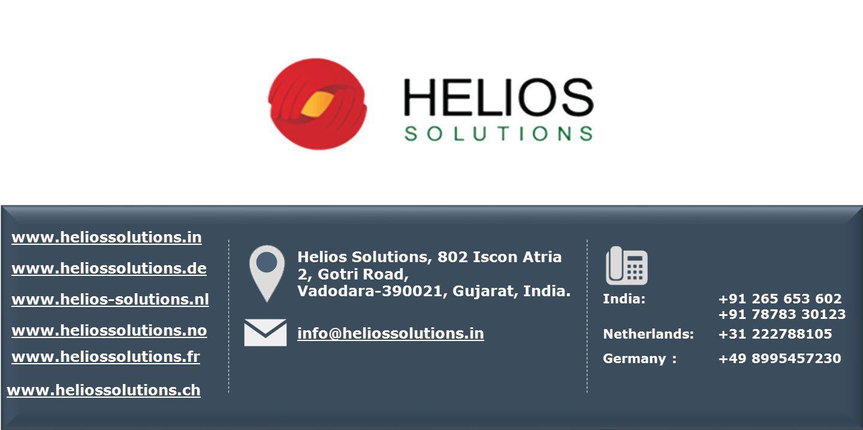Android 5.0 Lollipop www.heliossolutions.de www.helios-solutions.nl www.heliossolutions.no www.heliossolutions.fr Helios Solutions, 802 Iscon Atria 2, Gotri Road, Vadodara-390021, Gujarat, India.