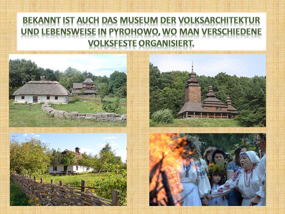 Die Stadt Lwiw, die 60 Museen und 100 Kirchen besitzt, ist als Stadt der Künste in ganz Europa bekannt.