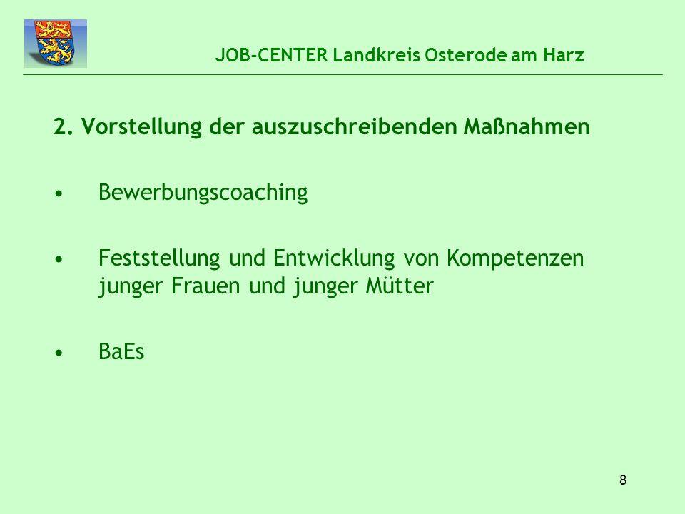 9 JOB-CENTER Landkreis Osterode am Harz