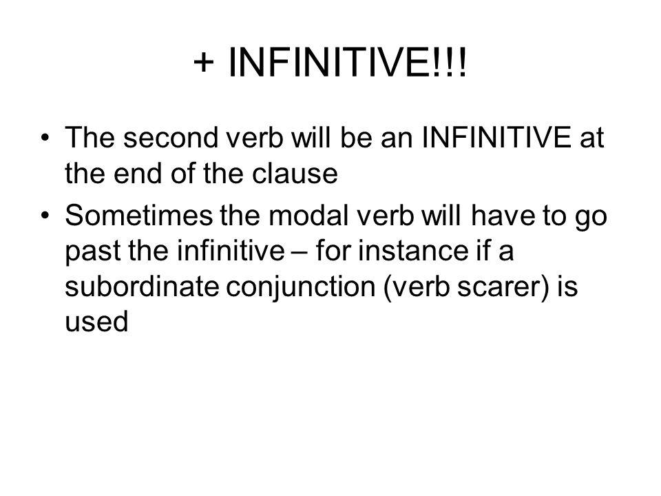 + INFINITIVE!!.
