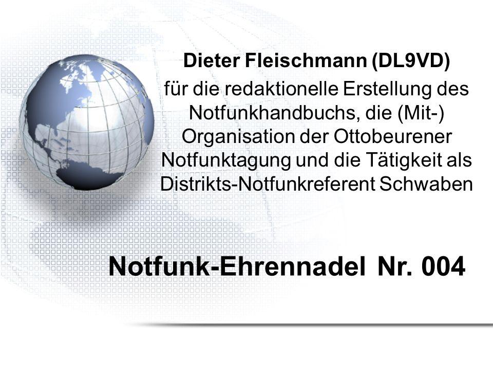 Notfunk-Ehrennadel Nr.