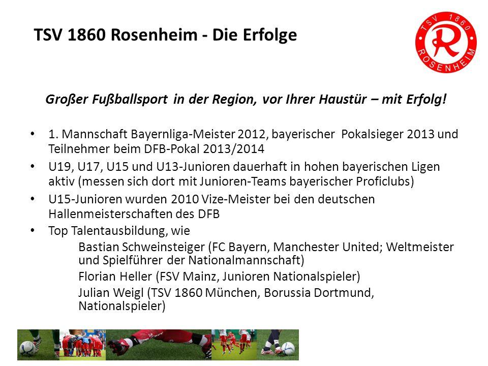 Großer Fußballsport in der Region, vor Ihrer Haustür – mit Erfolg.