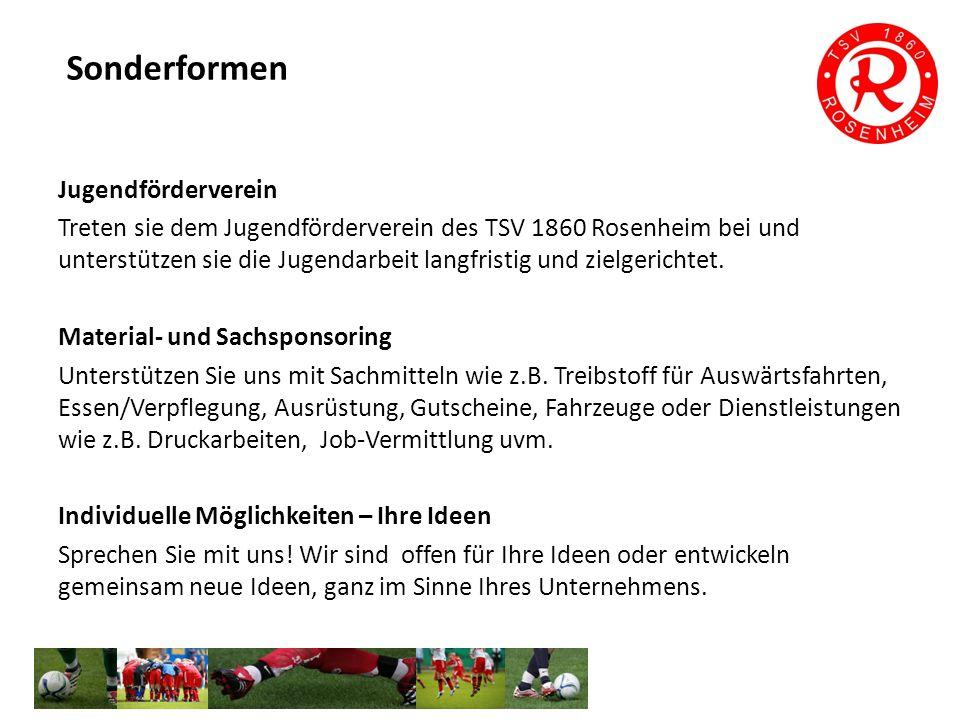 TSV 1860 Rosenheim Abteilung Fußball Jahnstr.