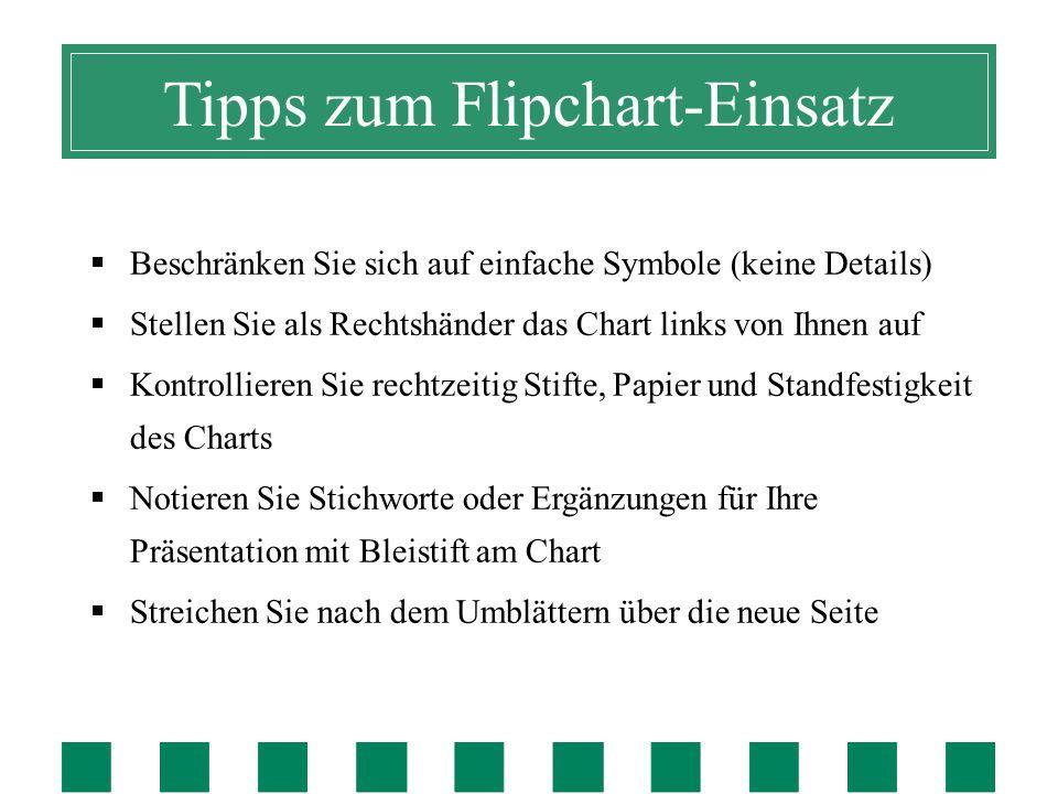 Tipps zur Foliengestaltung  Aussagestarke Titelzeilen.