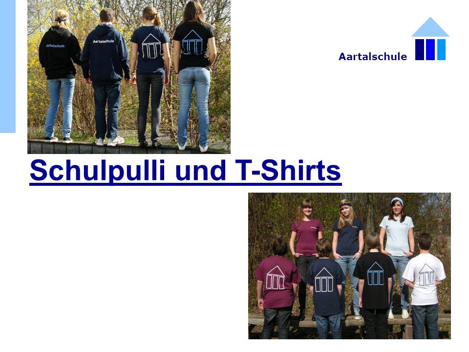 Schulpulli und T-Shirts Aartalschule