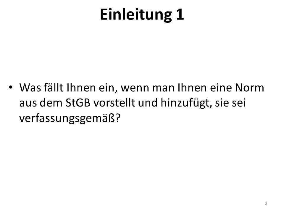 """Fälle BVerfG: """"Fallgruppenspezifische Obersatzbildung – Fallrecht."""