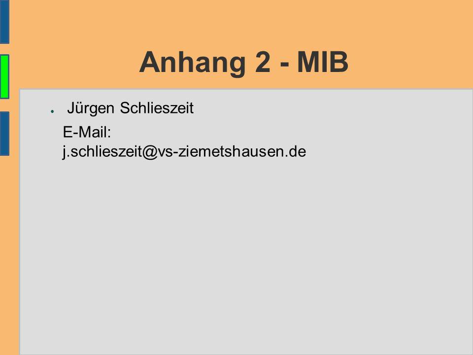 Anhang 2 - MIB ● Jürgen Schlieszeit E-Mail: j.schlieszeit@vs-ziemetshausen.de