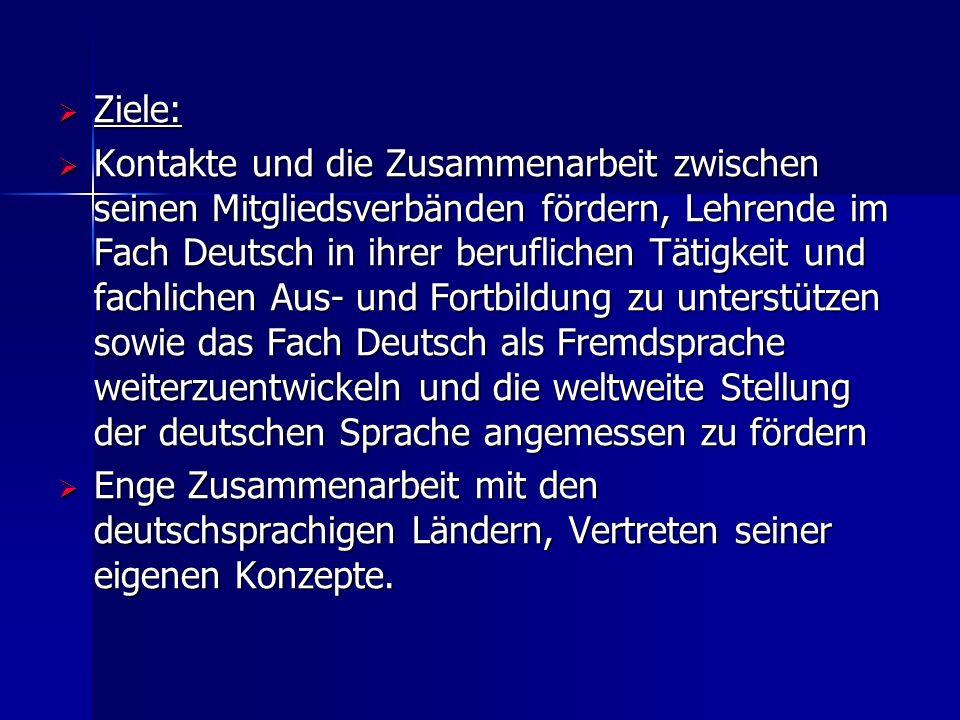  Die AILA hat 8.000 Individualmitgliedern (Stand im Jahre 2009)  alle fünf Jahre Weltkongress, in Deutschland fand der letzte 2008 in Essen statt, wurde von der Gesellschaft für Angewandte Linguistik (GAL) organisiert, die den deutschen Zweig der AILA darstellt.