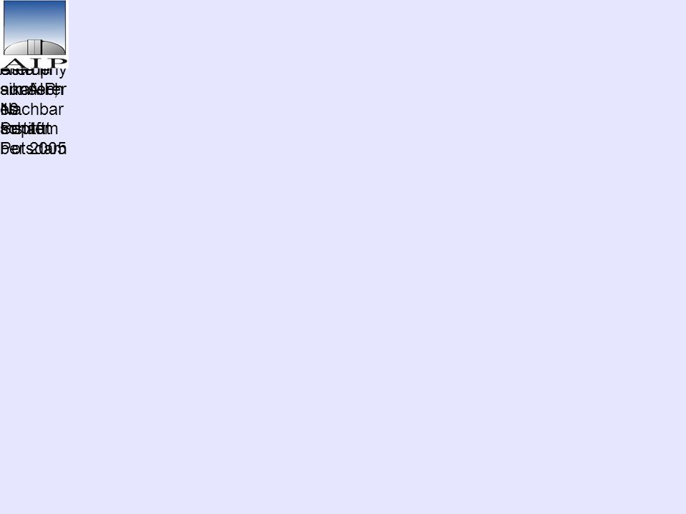 Versteck te Zwergst erne in unserer Nachbar schaft Ralf- Dieter Scholz Astrophy sikalisch es Institut Potsdam Lange Nacht der Sterne am AIP, 10. Septe