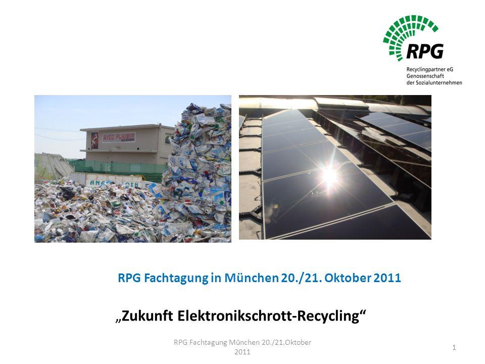 RPG Fachtagung in München 20./21.