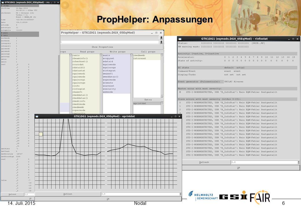 6 PropHelper: Anpassungen