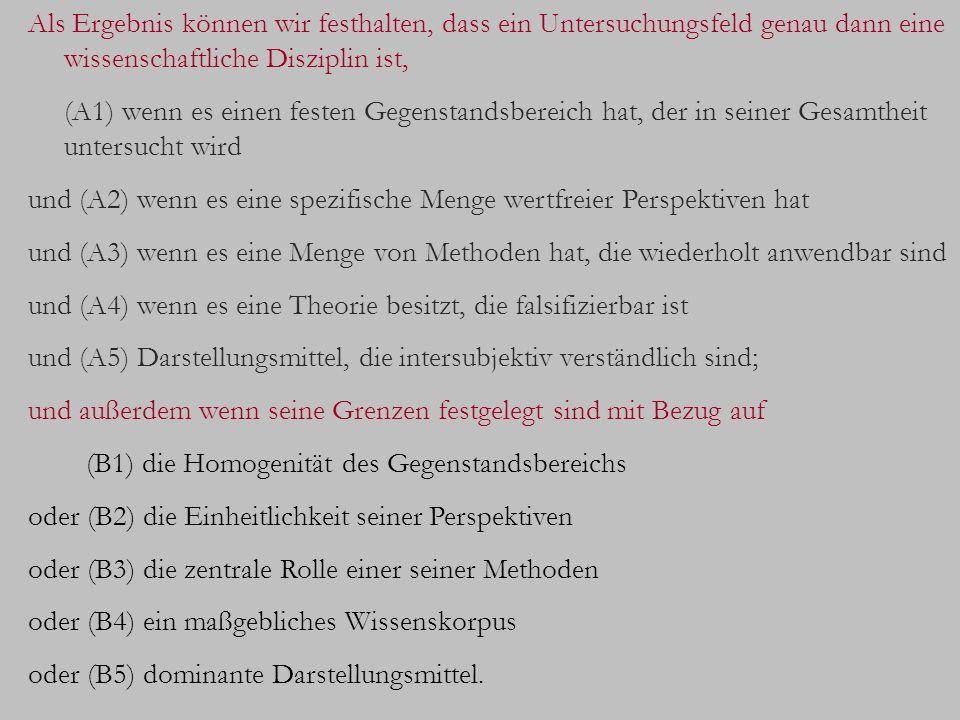 IV.Die Rolle der Semiotik im Kontext der gegenwärtigen akademischen Disziplinen 1.