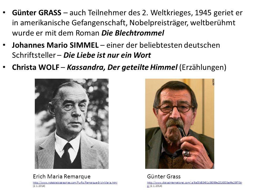Günter GRASS – auch Teilnehmer des 2.