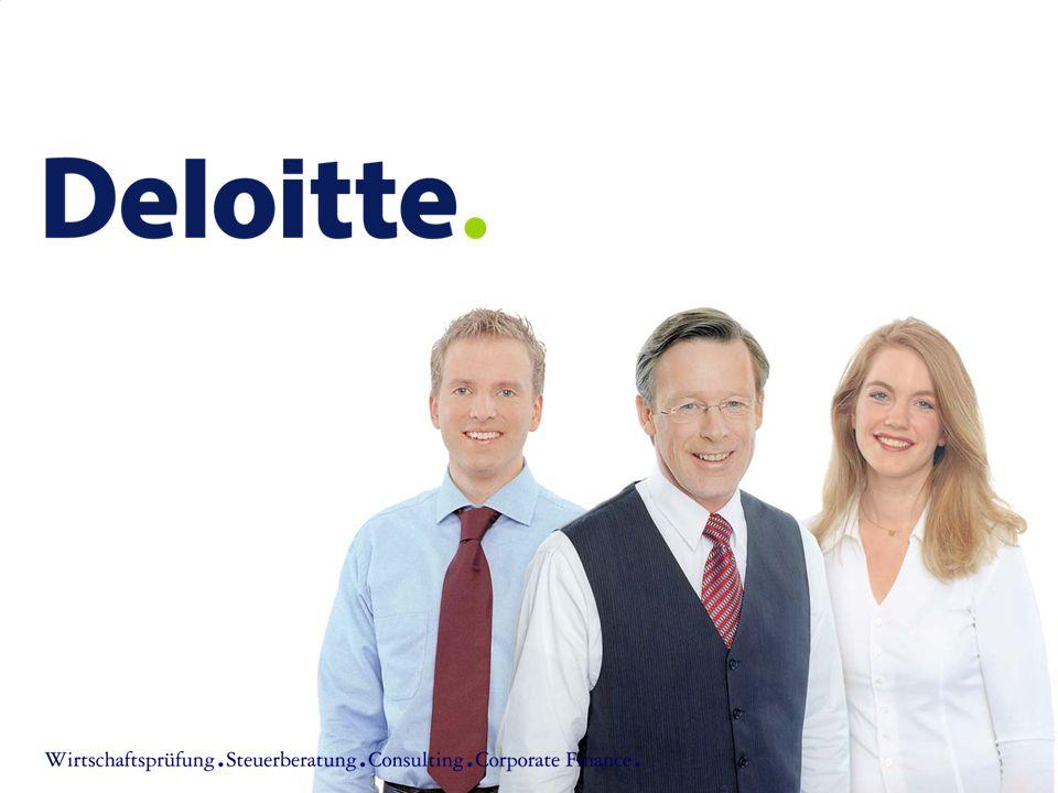 ©2006 Deloitte & Touche GmbH Wirtschaftsprüfungsgesellschaft Förderperspetiven für Start-up-Unternehmen12 II.