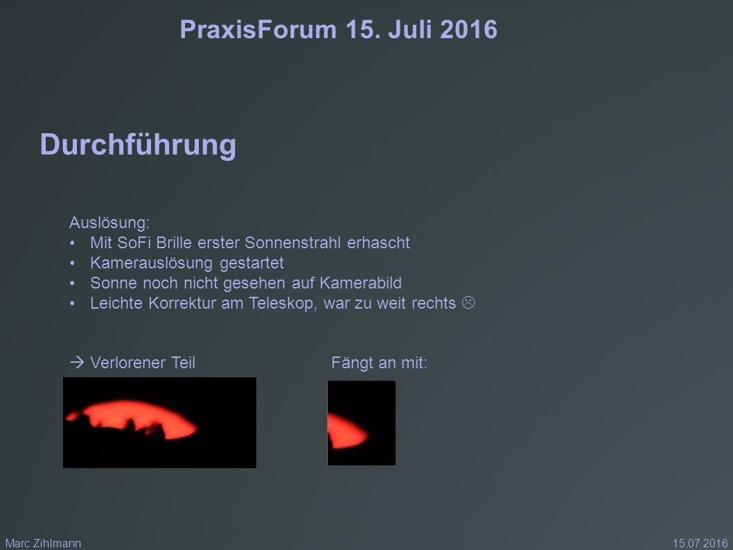 PraxisForum 15.