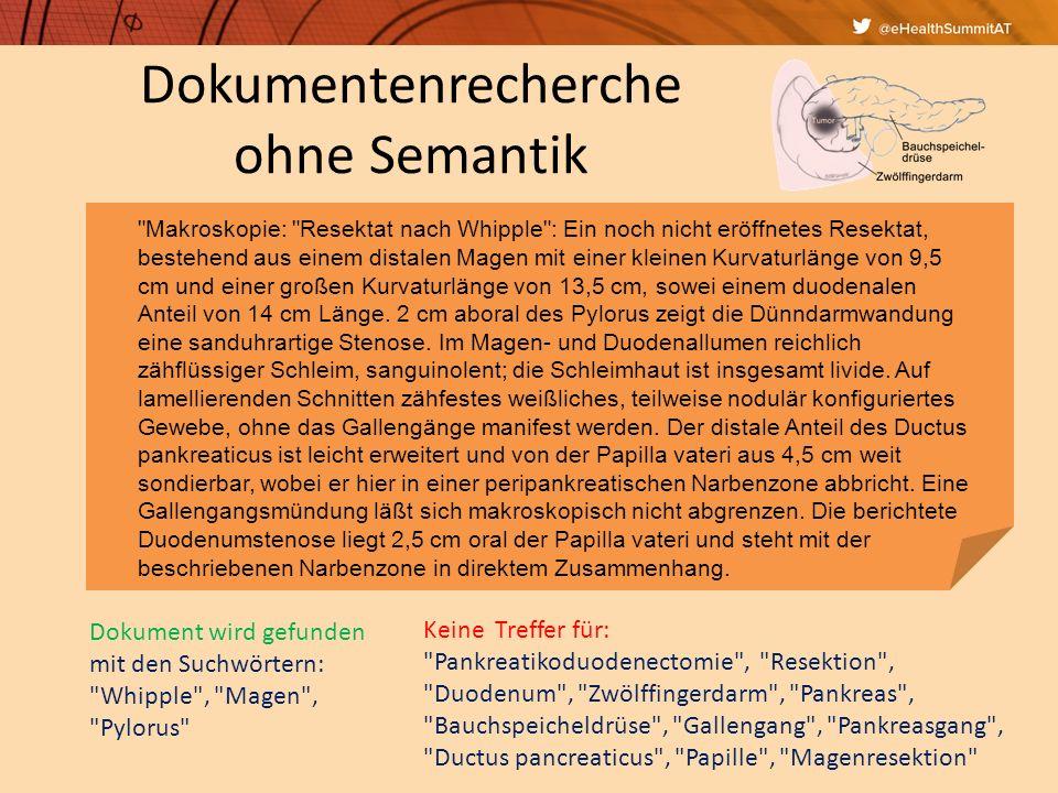Semantische Interpretation St.p. TE eines exulc. sek.knot.SSM (C43.5) li US dors.
