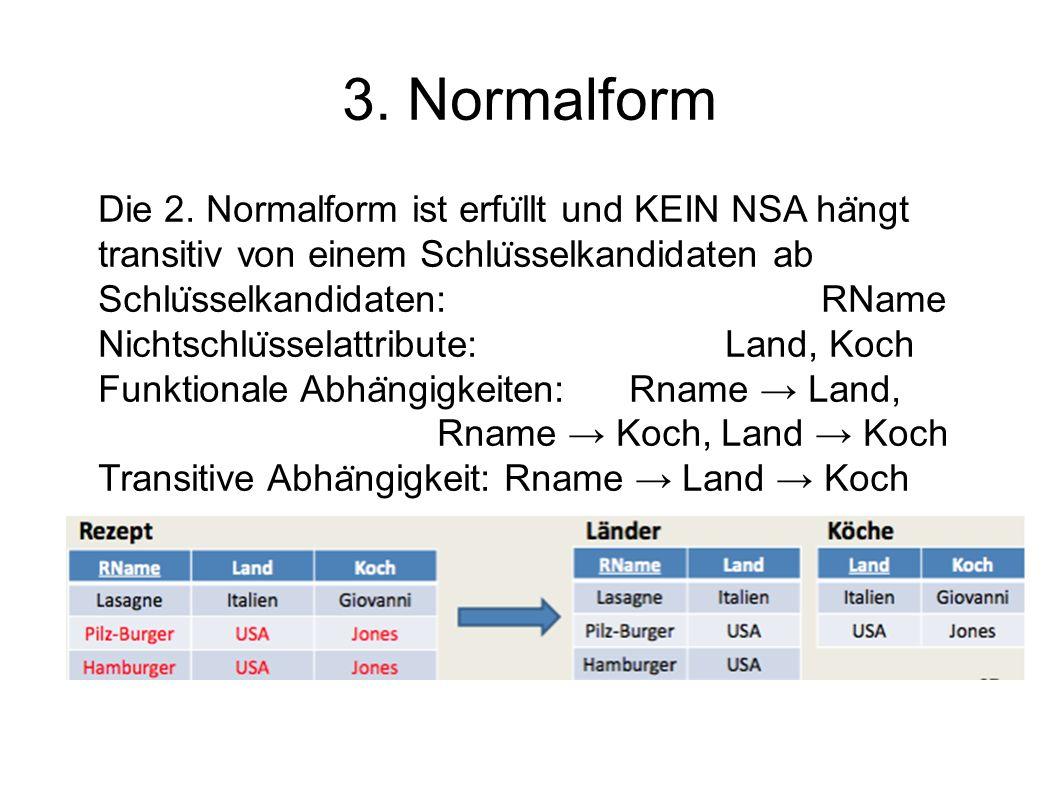 3. Normalform Die 2.