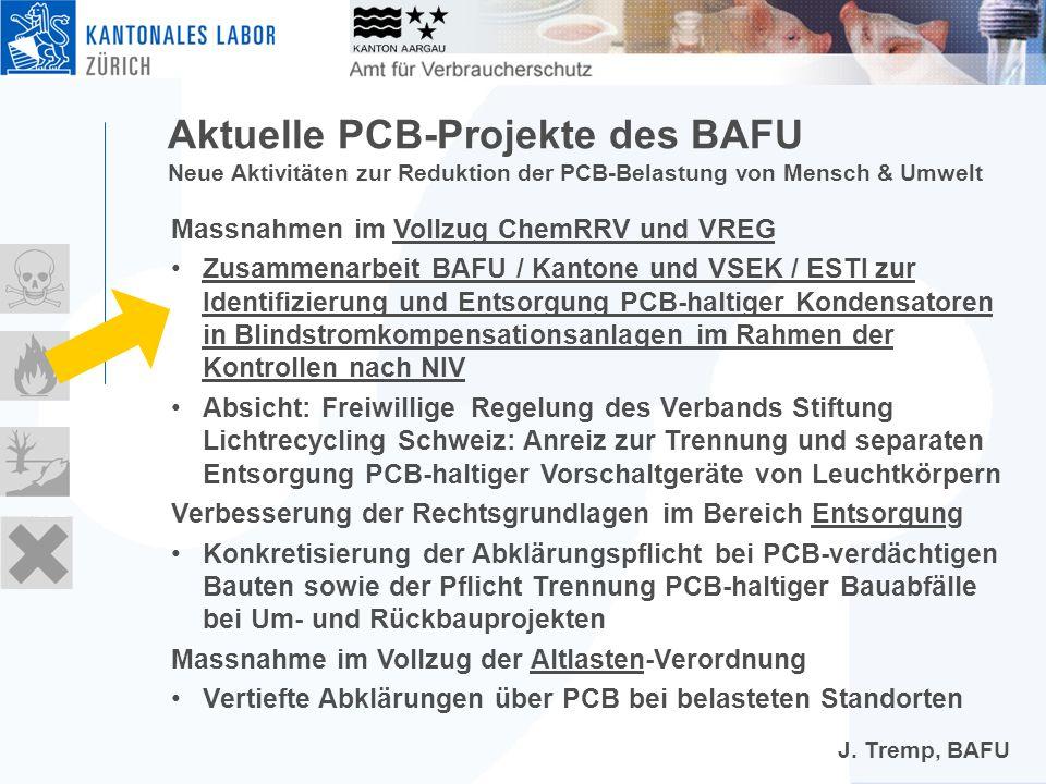 Wo findet man noch PCB-haltige Anlagen.