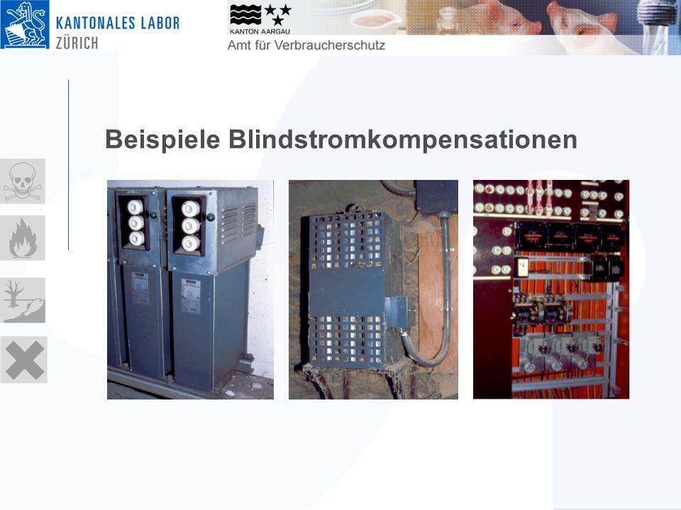 Beispiele Blindstromkompensationen