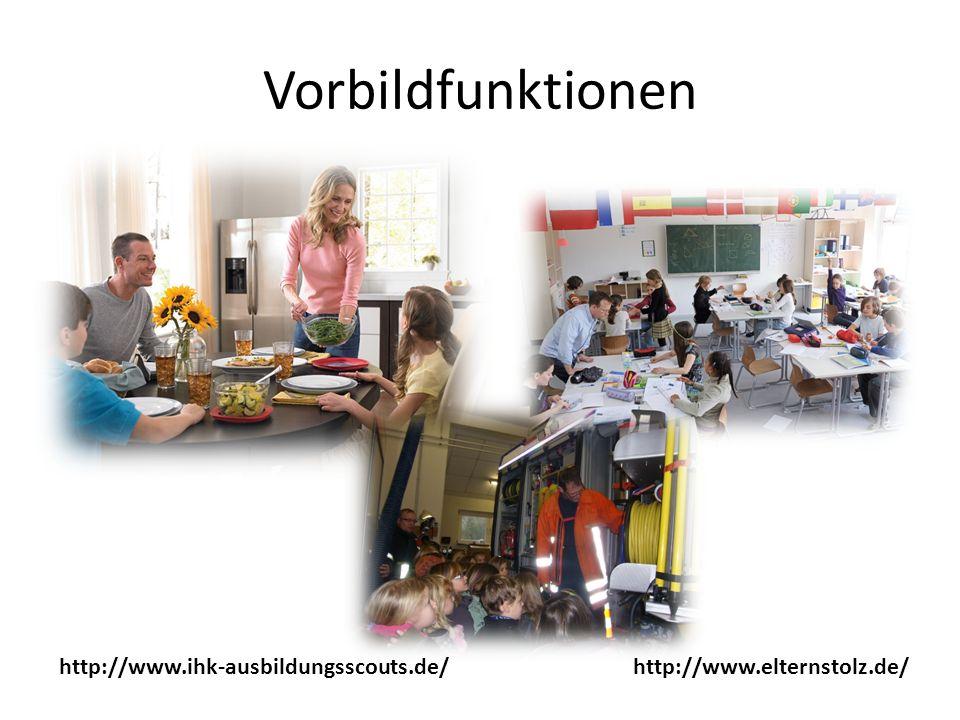 Vorbildfunktionen http://www.ihk-ausbildungsscouts.de/http://www.elternstolz.de/