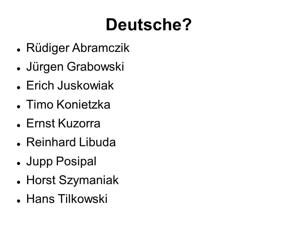 Deutsche.