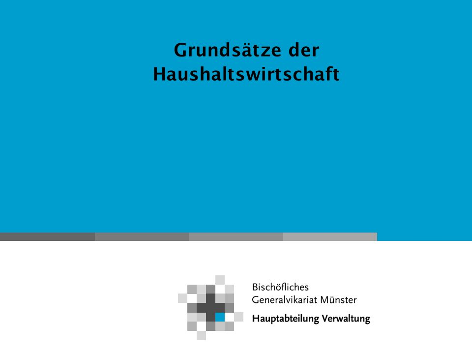 Haushaltswirtschaft Kirchengemeinden nach der HKO 2.3 Beauftragtentätigkeit - Alternativ Beauftragtentätigkeit durch Verwaltungsreferentin bzw.