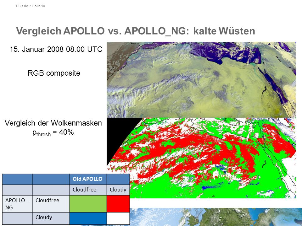 DLR.de Folie 10 Vergleich APOLLO vs. APOLLO_NG: kalte Wüsten RGB composite 15.