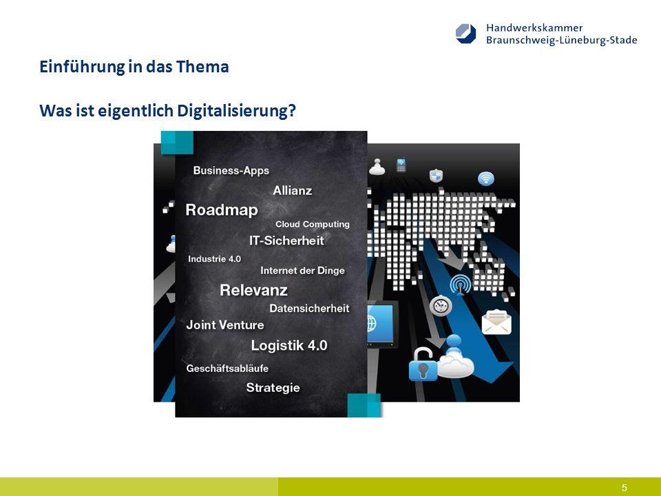 6 Die Potenziale der Digitalisierung für Wachstum und Wohlstand werden von Vertretern aus Politik, Wirtschaft und Gesellschaft immer wieder gepriesen.