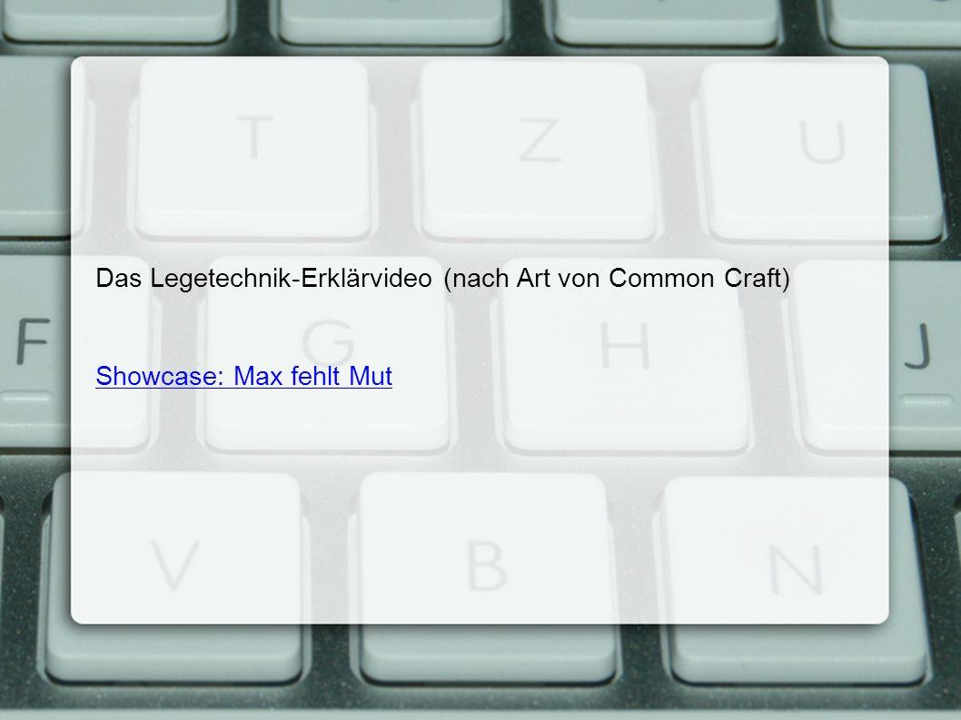 Das Legetechnik-Erklärvideo (nach Art von Common Craft) Showcase: Max fehlt Mut