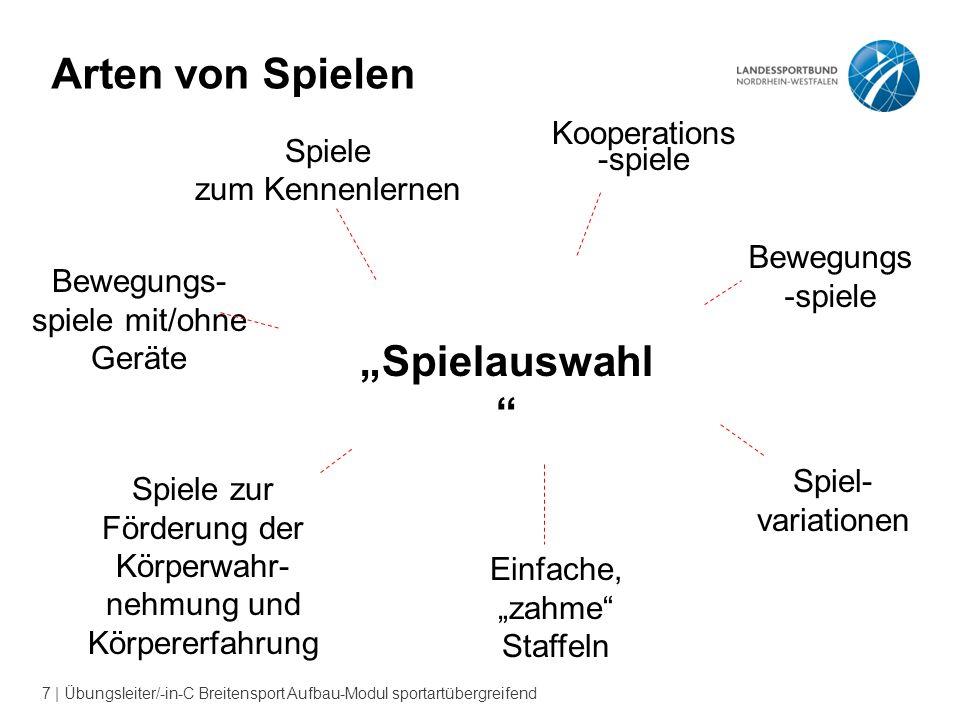 18   Übungsleiter/-in-C Breitensport Aufbau-Modul sportartübergreifend !!.