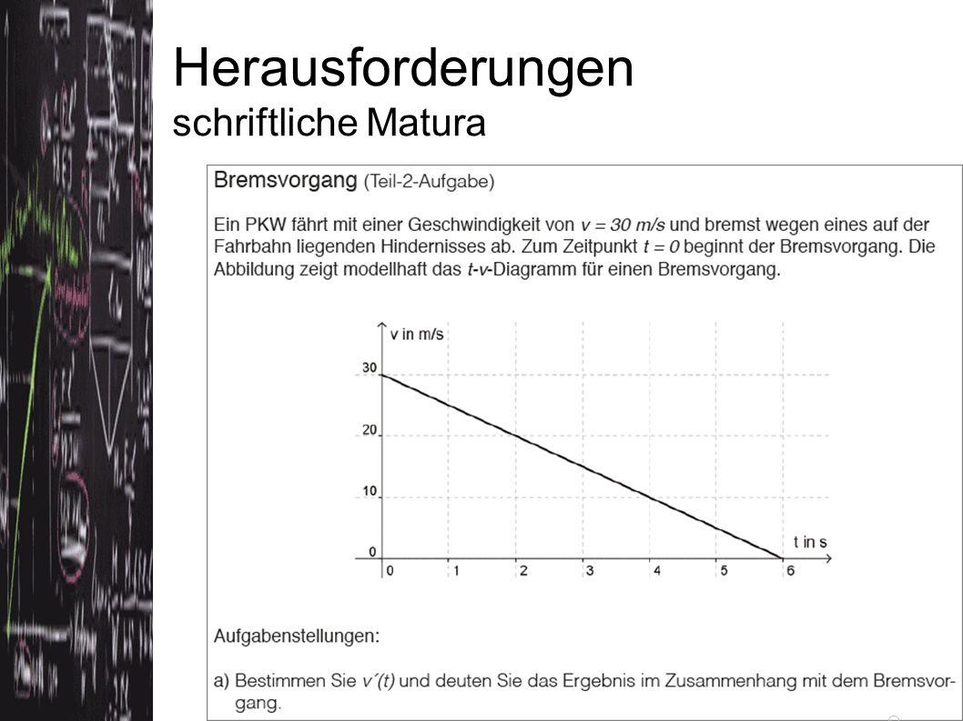 Quelle: Exemplarische Aufgabenstellungen SRP Mathematik bifie (Dezember 2011)