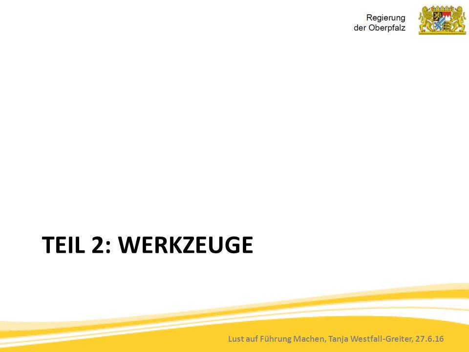 Lust auf Führung Machen, Tanja Westfall-Greiter, 27.6.16 TEIL 2: WERKZEUGE