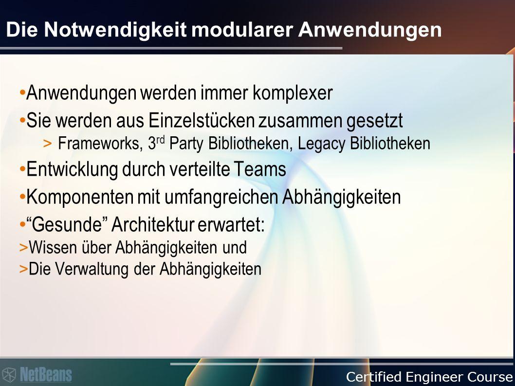 Certified Engineer Course Verwende vorhandene Runtime Container Ruhe in Frieden, Home-made Frameworks 1995-2009 1995-2009 Home-made Framework