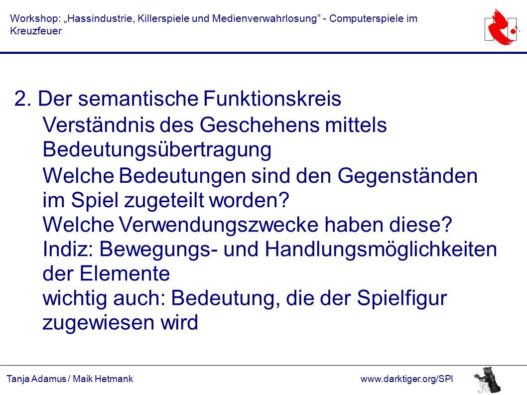 """Tanja Adamus / Maik Hetmankwww.darktiger.org/SPI Workshop: """"Hassindustrie, Killerspiele und Medienverwahrlosung - Computerspiele im Kreuzfeuer 2."""