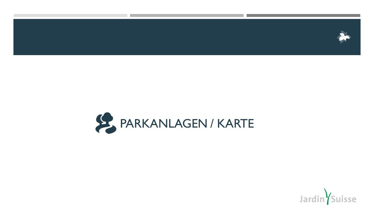 PARKANLAGEN / KARTE
