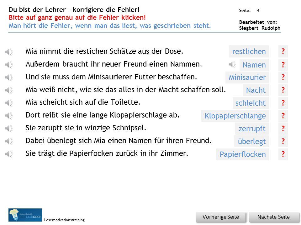 Übungsart: Seite: Bearbeitet von: Siegbert Rudolph Lesemotivationstraining 3 Silbenhammer Bitte klicken.