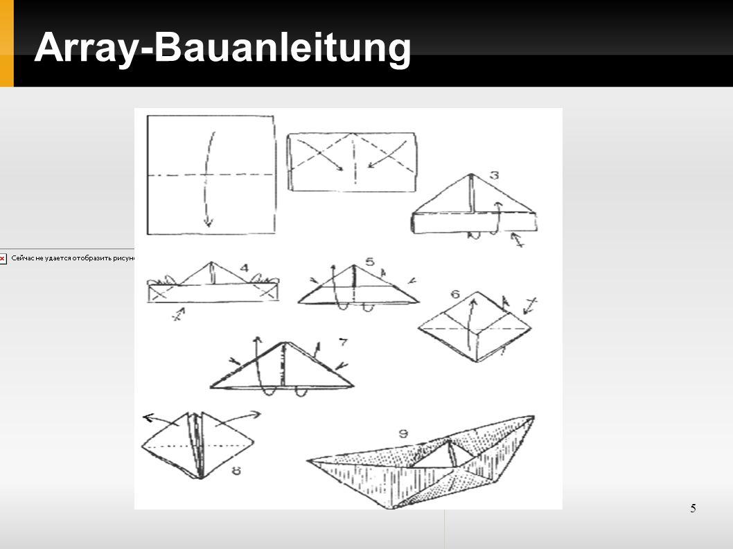5 Array-Bauanleitung
