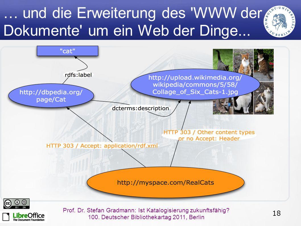 18 Prof.Dr. Stefan Gradmann: Ist Katalogisierung zukunftsfähig.
