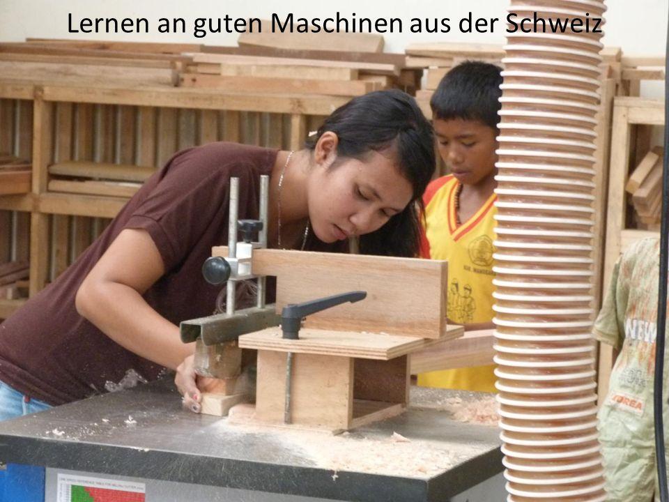 Lernen an guten Maschinen aus der Schweiz