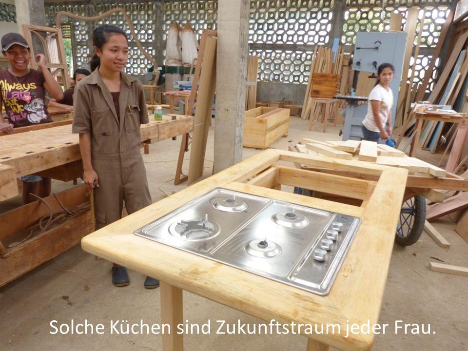 Solche Küchen sind Zukunftstraum jeder Frau.