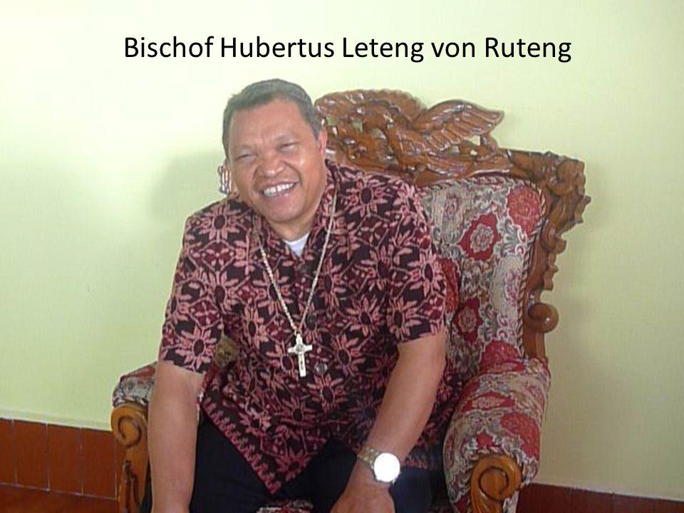 Bischof Hubertus Leteng von Ruteng