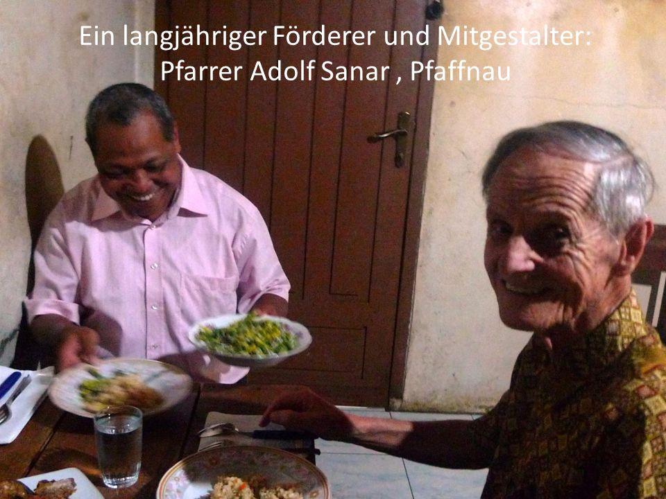 Ein langjähriger Förderer und Mitgestalter: Pfarrer Adolf Sanar, Pfaffnau