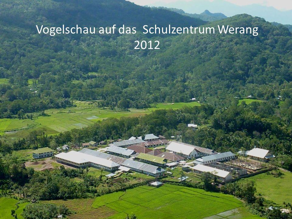 Vogelschau auf das Schulzentrum Werang 2012