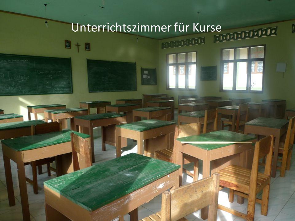 Unterrichtszimmer für Kurse