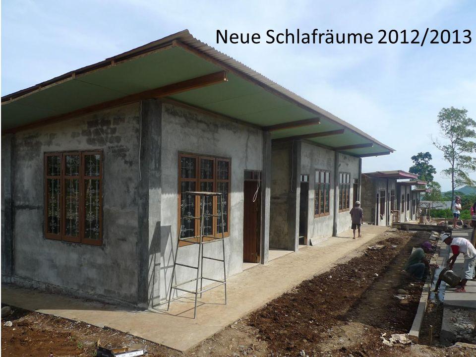 Neue Schlafräume 2012/2013