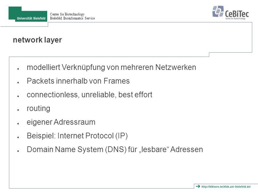 Center for Biotechnology Bielefeld Bioinformatics Service Aufgaben ● Die Skripte server.pl und client.pl befinden sich im Archiv uebung4.tar.gz.