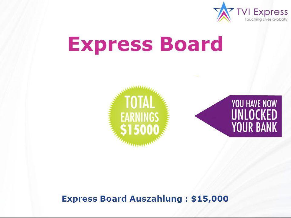 Express Board Express Board Auszahlung : $15,000