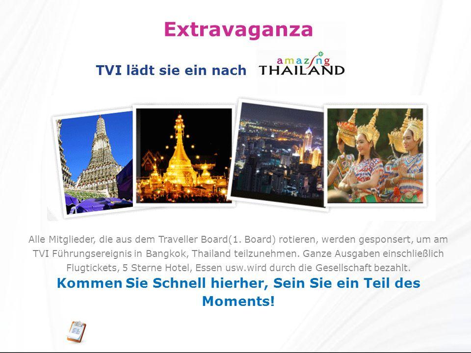 Extravaganza Alle Mitglieder, die aus dem Traveller Board(1.