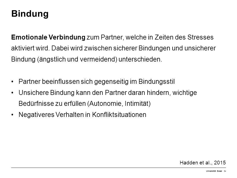 Emotionale Verbindung zum Partner, welche in Zeiten des Stresses aktiviert wird.